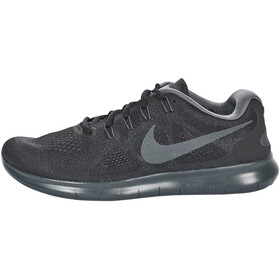 Nike Free RN 2 Running Shoes Men black/anthracite-dark grey-cool grey